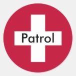 Patrol Sticker - One