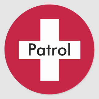Patrol Sticker - One