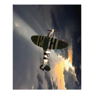 Patrolling Spitfire Flyer