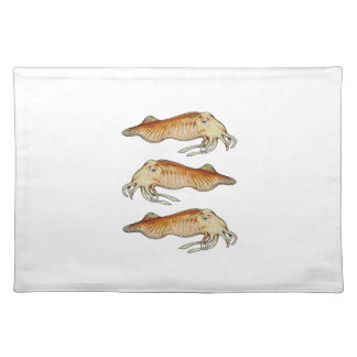PATROLLING THE REEFS CLOTH PLACEMAT