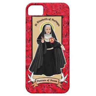 Patrón del St. Elizabeth del caso católico del iPhone 5 Fundas