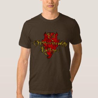 Patrón malvado de la oportunidad camisas