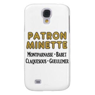 Patron-Minette Galaxy S4 Cover