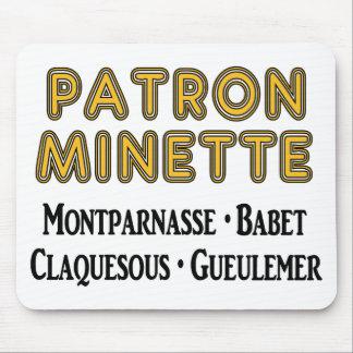 Patrón-Minette Mousepad