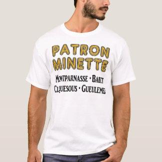 Patrón-Minette Playera
