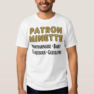Patrón-Minette Remera