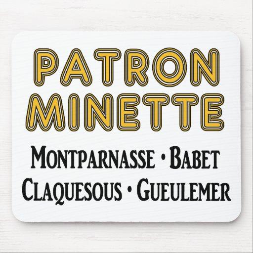 Patrón-Minette Alfombrillas De Ratón