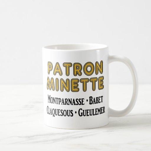 Patrón-Minette Taza
