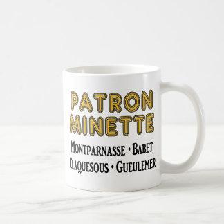 Patrón-Minette Taza Clásica