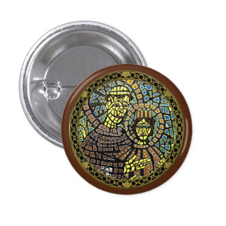 Patron Of Lost Items Saint Anthony Button Mini