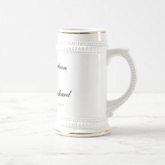 Patrón orgulloso de la jarra de cerveza del imperi taza de café