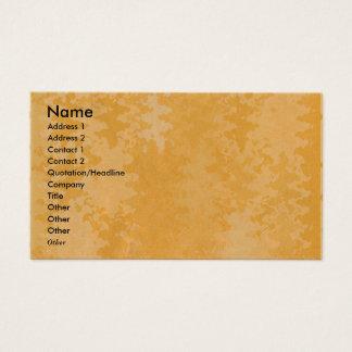 Patrón oro - brilla y agita para nunca tarjeta de negocios