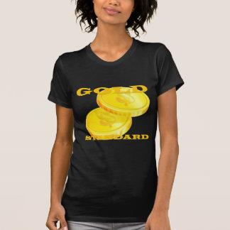 Patrón oro camiseta