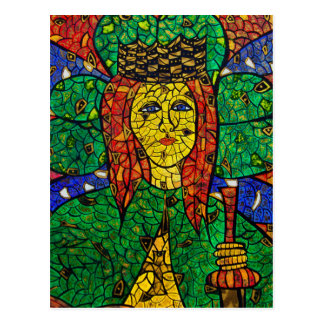 Patron Saint Of Depression And Anxiety St Dymphna Postcard
