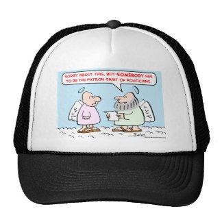 patron saint of politicians hats