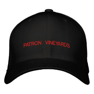 PATRON VINEYARDS EMBROIDERED BASEBALL CAP