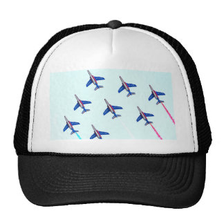 Patrouille Paris Air Show sky plans and freedom Trucker Hat