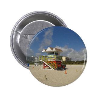 Patrulla #05 del océano de los salvavidas de Miami Pin Redondo 5 Cm