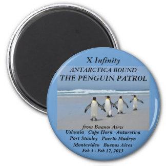 patrulla 2013 del pingüino del infinito del imán d