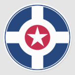 Patrulla aérea Roundel de Indianapolis Etiqueta Redonda