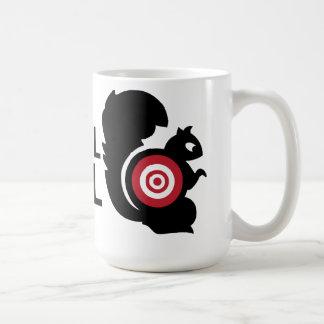 Patrulla de la ardilla taza de café