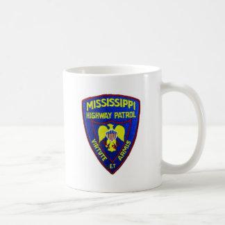Patrulla de la carretera de Mississippi Taza