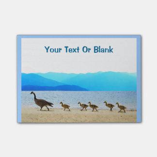 Patrulla de orilla - gansos de Canadá Notas Post-it®