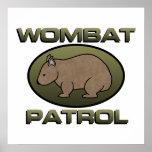 Patrulla de Wombat II Posters