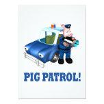 Patrulla del cerdo comunicado personal