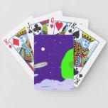 Patrulla del espacio cartas de juego