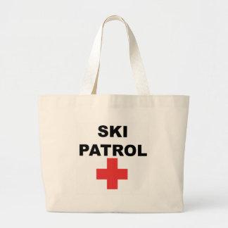 Patrulla del esquí bolsa tela grande