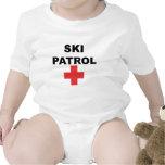 Patrulla del esquí camiseta