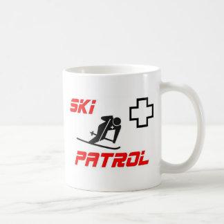 "Patrulla del esquí - ""esquiador "" taza clásica"