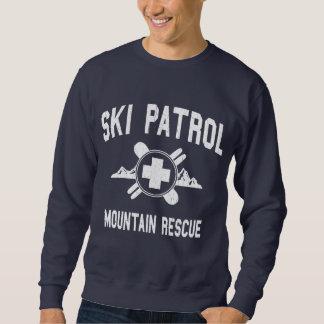 Patrulla del esquí - rescate de la montaña sudadera