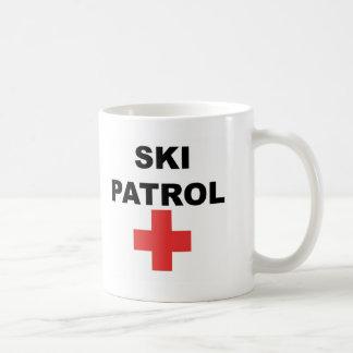 Patrulla del esquí taza clásica