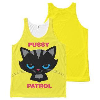 Patrulla del gatito playera de tirantes con estampado integral