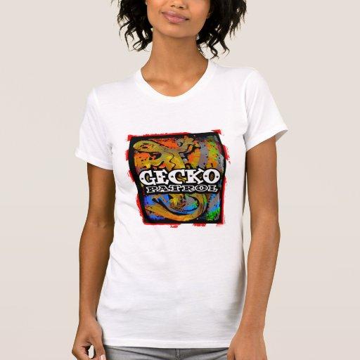 patrulla del gecko camiseta