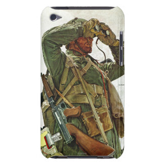 Patrulla del tanque iPod touch Case-Mate carcasa