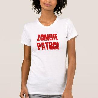 Patrulla del zombi - blanco camiseta
