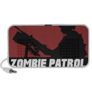 Patrulla del zombi - en el altavoz del Doodle del
