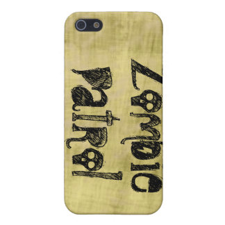 Patrulla del zombi iPhone 5 carcasas