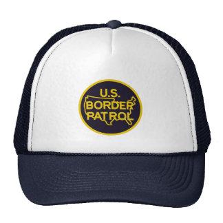 Patrulla fronteriza de Estados Unidos Gorras De Camionero