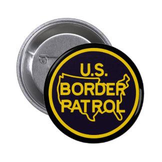 Patrulla fronteriza de Estados Unidos Pin Redondo De 2 Pulgadas