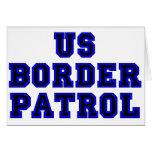Patrulla fronteriza de los E.E.U.U. Felicitacion