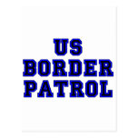 Patrulla fronteriza de los E.E.U.U. Postal