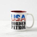 Patrulla fronteriza de los E.E.U.U. Tazas