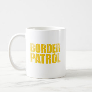 Patrulla fronteriza Faded.png Taza Básica Blanca
