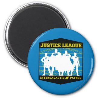 Patrulla intergaláctica de la liga de justicia imán para frigorifico