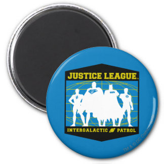 Patrulla intergaláctica de la liga de justicia imán redondo 5 cm