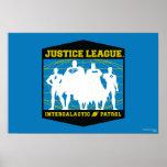 Patrulla intergaláctica de la liga de justicia posters